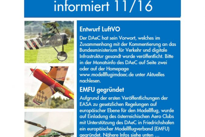 Verbandsnachrichten 11/16